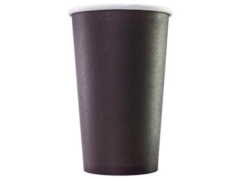 Бумажный стакан для кофе 400 мл Черный