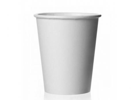 бумажный стакан для кофе 150 мл белый (100 шт)