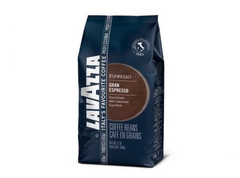 кофе в зернах lavazza gran espresso 1000 гр (1кг)