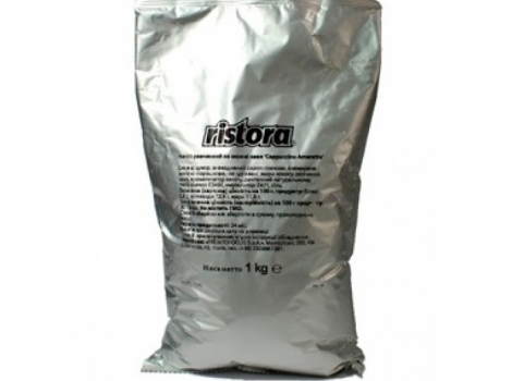 капучино ristora карамель 1000 гр (1 кг)