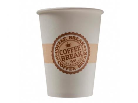 бумажный стакан для кофе 300 мл coffee break (100 шт)