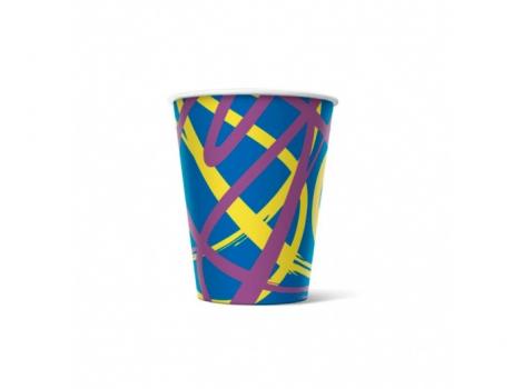 бумажный стакан для кофе 165 мл jet (100 шт)