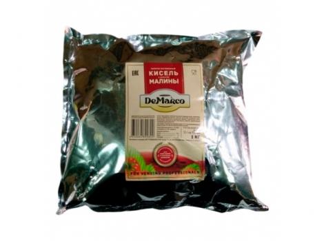 кисель малина для вендинга 1000г (1 кг demarco)