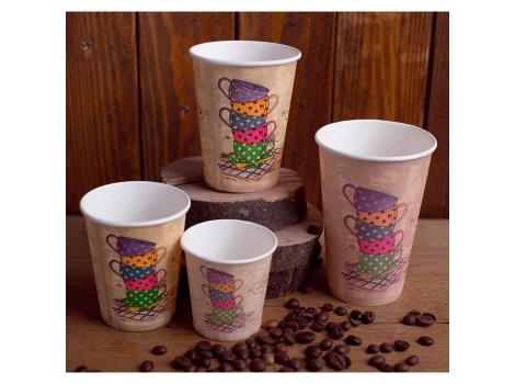 Бумажный стакан для кофе 400 мл Melange (35 шт)