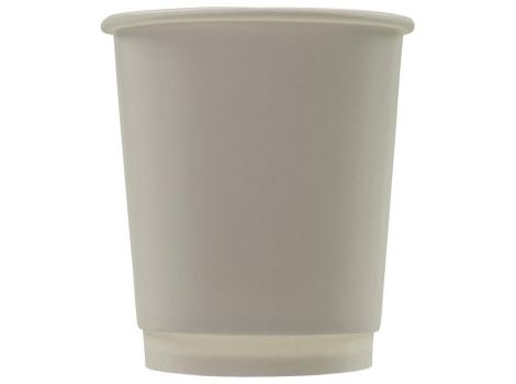Бумажный стакан для кофе 250 мл белый, двухслойный (25 шт)