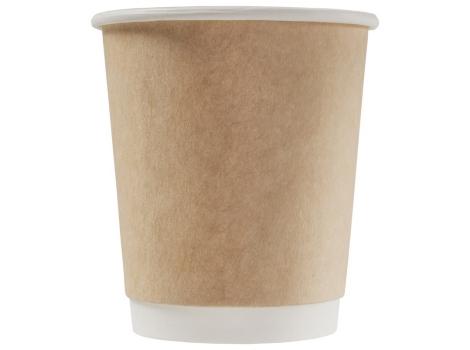 Бумажный стакан для кофе 250 мл CRAFT двухслойный (25 шт)