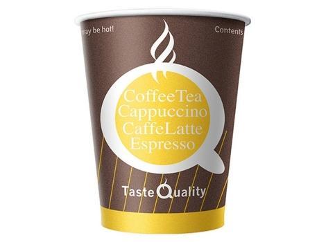 Бумажный стакан для кофе 160 мл Taste Quality (100 шт) ВЕНДИНГ Азия