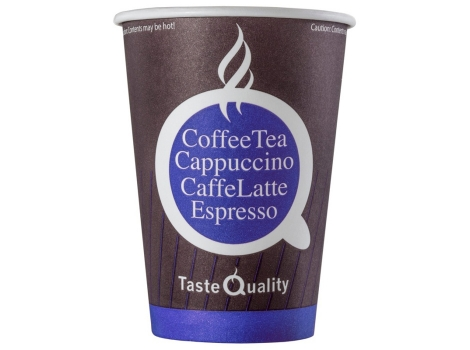 Бумажный стакан для кофе 300 мл Taste Qulity (50 шт), узкий, ВЕНДИНГ