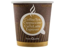 Бумажный стакан для кофе 100 мл цветной Taste Quality (60 шт)