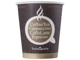 Бумажный стакан для кофе 250 мл цветной Taste Quality (75 шт)