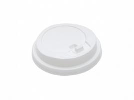 Крышка для стакана диаметр 80мм с клапаном, белая (100 шт)