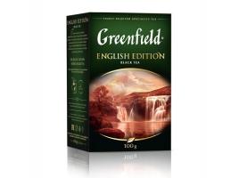 Чай черный Гринфилд English Edition листовой (100 гр)