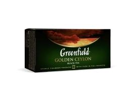 Чай черный Гринфилд Голден Цейлон (25 пак. х 2г.)