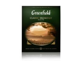Чай черный Гринфилд Classic Breakfast в пакетиках (100 х 2 гр)