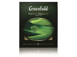 Чай зелёный Гринфилд Флаинг Драгон, 100 пак. х 2г.
