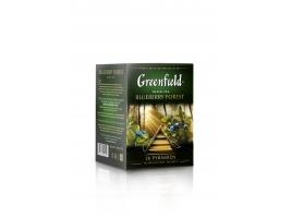 Чай черный Гринфилд Blueberry Forest в пирамидках (20 х 1.8 гр)