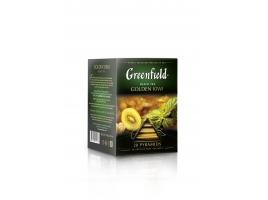 Чай черный Гринфилд Golden Kiwi в пирамидках (20 х 1.8 гр)