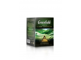 Чай зеленый Гринфилд Classic Genmaicha в пирамидках (20 х 1.8 гр)
