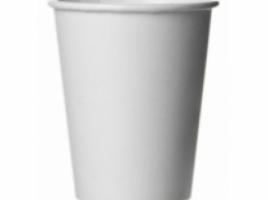 Бумажный стакан для кофе 300 мл белый (50 шт)