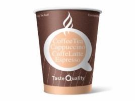 Бумажный стакан для кофе 165 мл цветной Taste Quality (100 шт) ВЕНДИНГ Евро