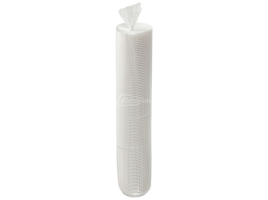 Крышка для стакана диаметр 90мм с питейником, белая (100 шт)