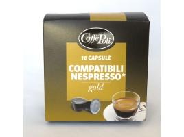 Кофейные капсулы Caffe Poli, Gold (10 шт)