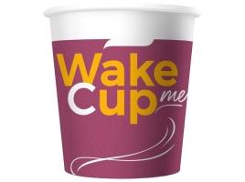 Бумажный стакан для кофе 100 мл WakeMeCup (60 шт.)