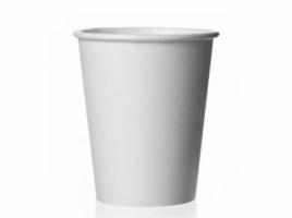 Бумажный стакан для кофе 150 мл белый (100 шт) ВЕНДИНГ Евро
