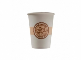 Бумажный стакан для кофе 165 мл Coffee Break (100 шт) ВЕНДИНГ Евро