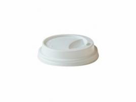 Крышка для стакана диаметр 62мм, белая (100 шт)